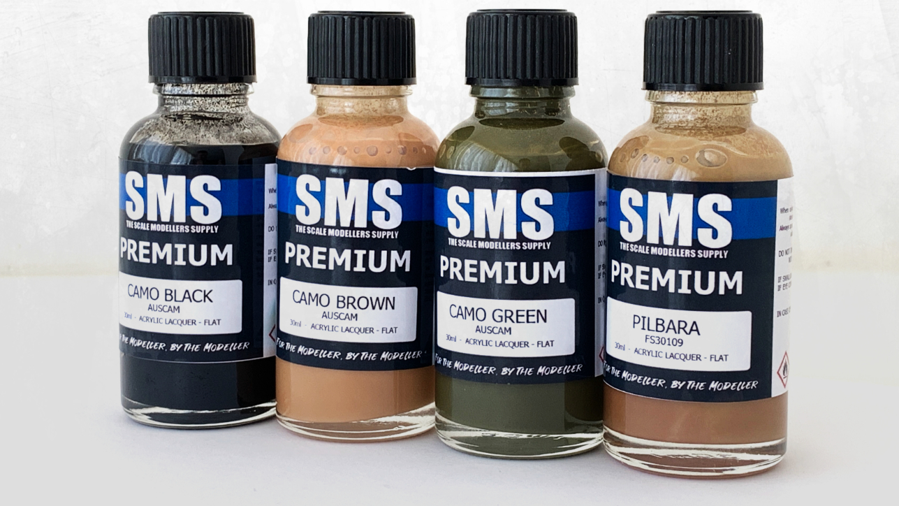 SMS Premium acrylic lacquer paint at ozarmour
