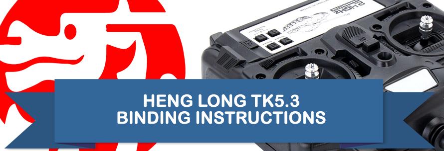Heng Long TK 5.3 Binding Instructions