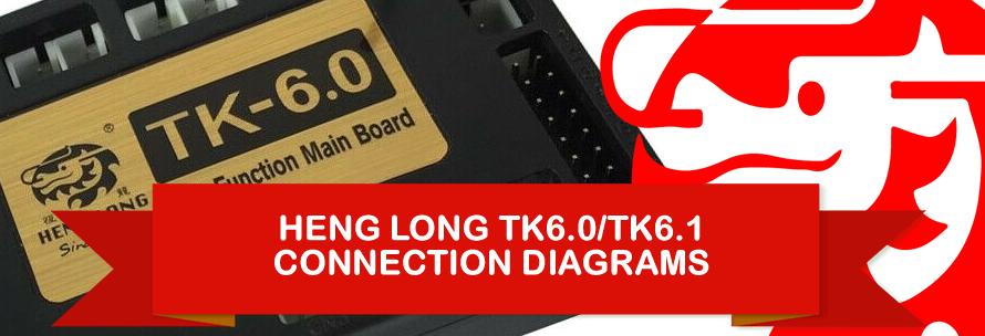 Heng Long TK6.0 Wiring Diagram for 1/16 RC Tank