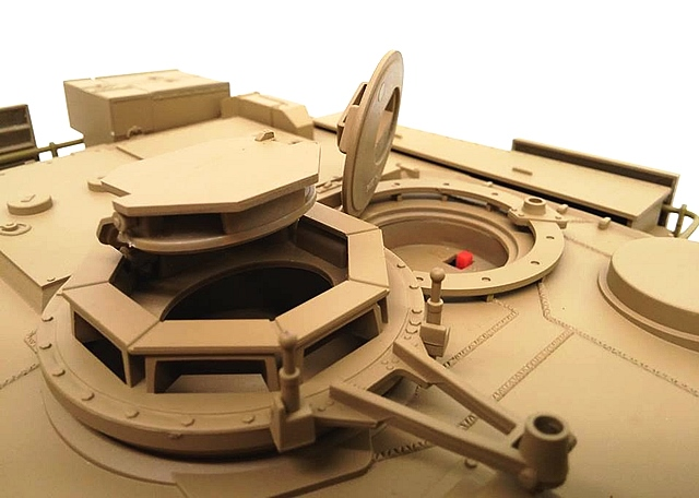 Abrams on Rc Tank Gearbox