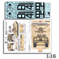 Echelon 1/16 3rd ACR M1A2 Abrams (Operation Iraqi Freedom) Decals