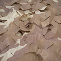 1/16 RC Tank Detail Canvas 50x50cm Pre-Cut Camo Netting - Desert Camo