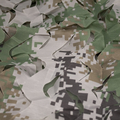 Canvas Pre-cut Camouflage Netting for 1/16 RC Tanks and Diorama - Digital Themed - 50cm x 50cm