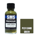 SMS CAMO GREEN 30ML PL31 PREMIUM LACQUER PAINT AUSCAM Olive Drab Lustreless