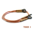 Genuine Taigen 1/16 Metal Tow Cable Set for Heng Long, Tamiya Tiger I RC Tanks TAG120010