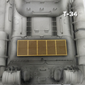 Taigen 1/16 T34-85 Photo Etched Anti Mine Mesh Grill